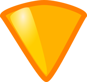 Empty Yellow Triangle