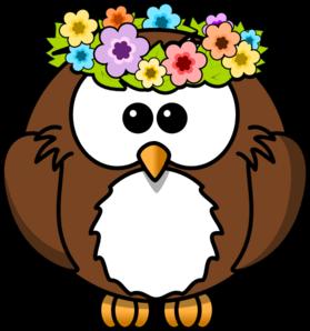 Hippy Owl PNG Clip art