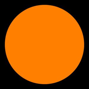 Orange Light Bird PNG Clip art