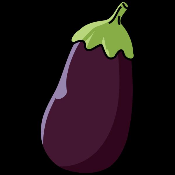 Eggplant & Black Birdie PNG Clip art