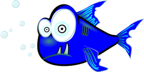 Piranha Blue PNG images