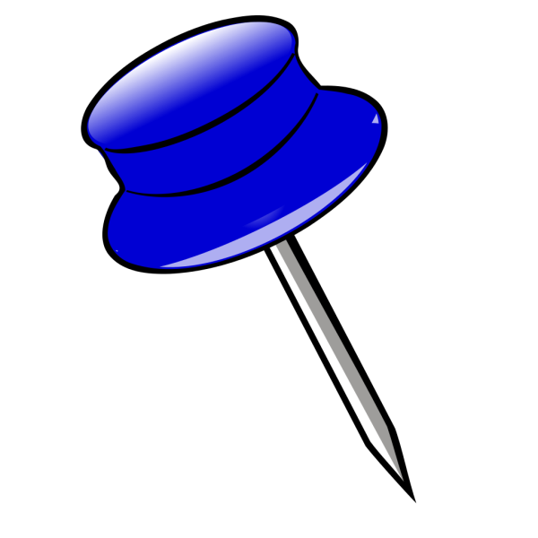 Blue Pin PNG images