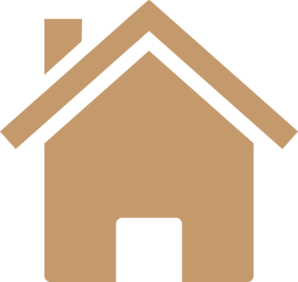 Gold House PNG Clip art