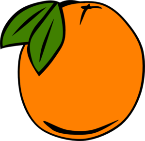Orange Outline PNG image