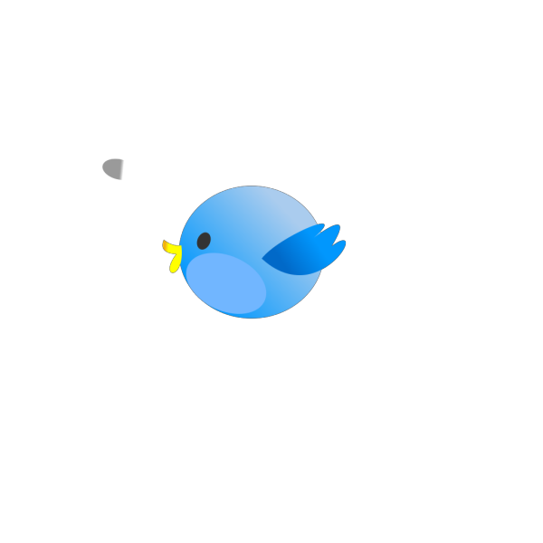 Twitter Fat Bird PNG Clip art