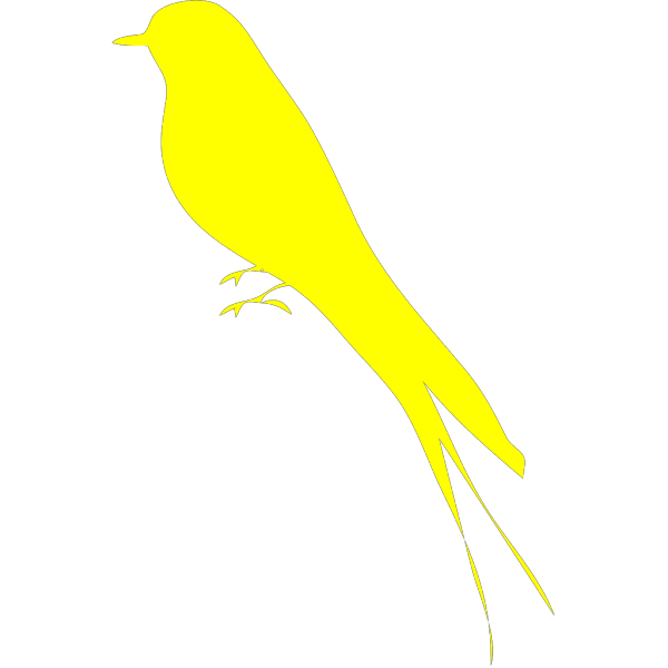 Little Yellow Bird  PNG Clip art