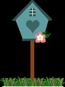 Yellow Bird House PNG Clip art