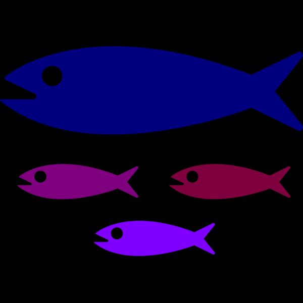 Fish Family PNG Clip art