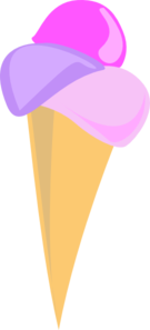Soft Serve Ice Cream Cone (b And W) PNG images