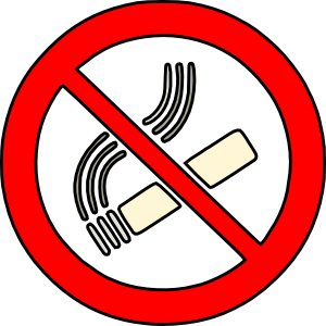 No Smoking Sign PNG icons