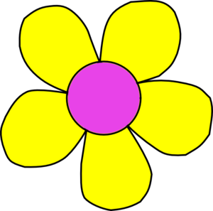 Flower Outline PNG image