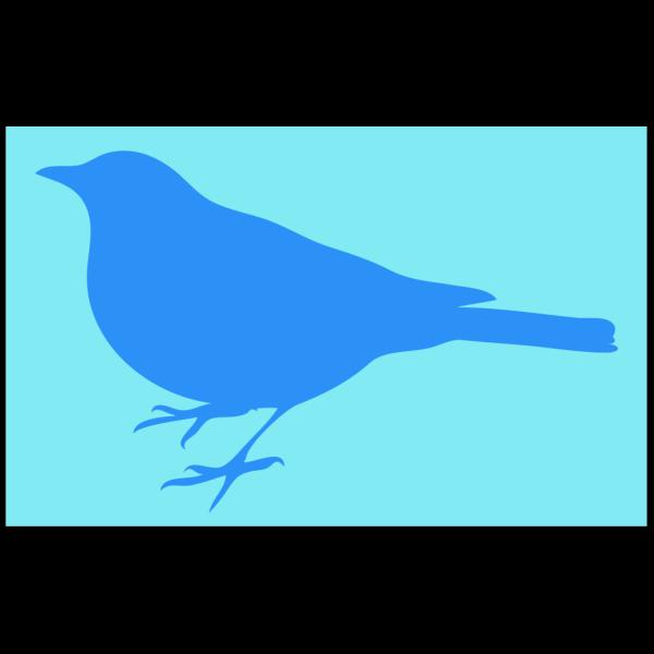 Bluebird On Green PNG Clip art