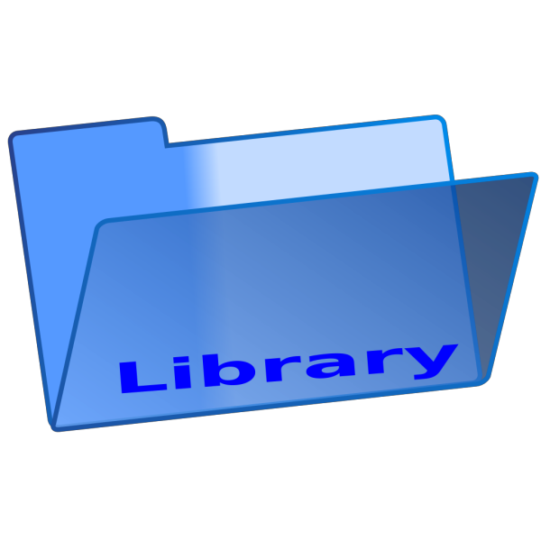 Library Folder PNG Clip art