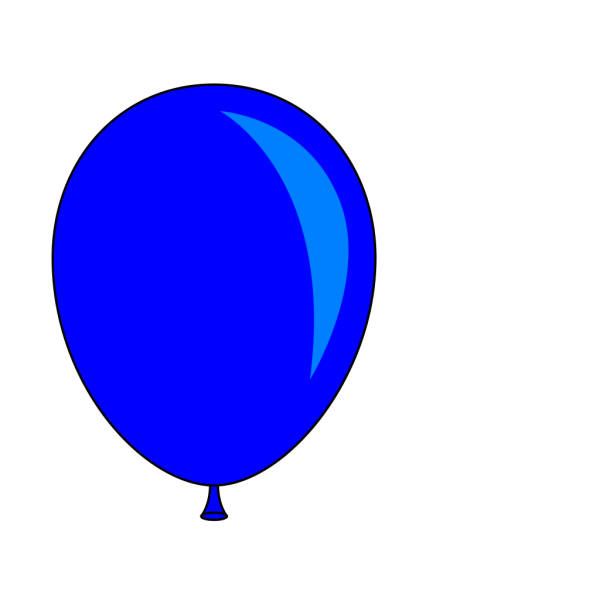 Blue Balloon PNG images
