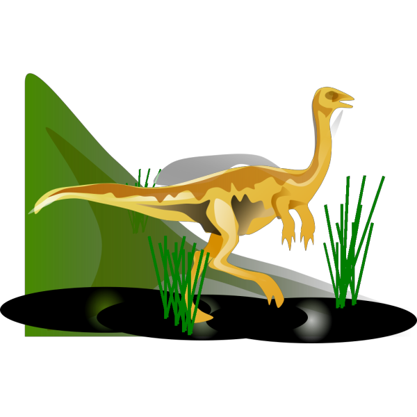 Gallimimus PNG images