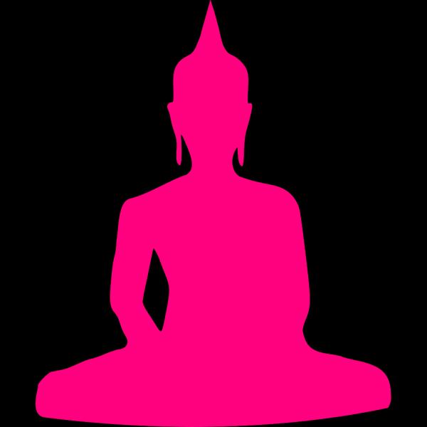 Pink Buddha PNG Clip art