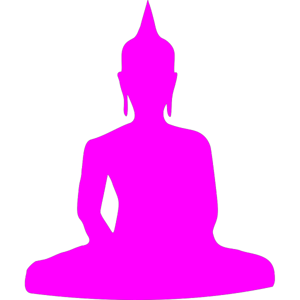 Pink Buddha 3 Clip art - Icon vector - Download vector clip art online