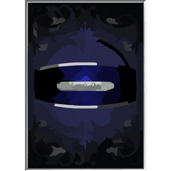 Silver Frills PNG Clip art