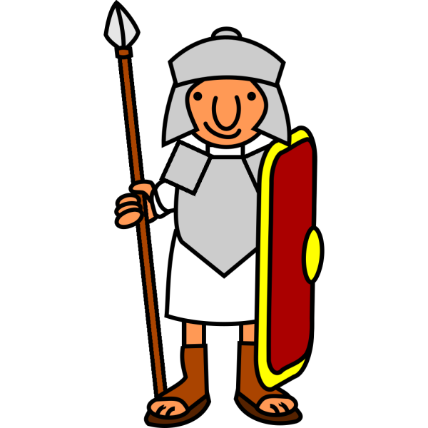 Roman Soldier PNG images
