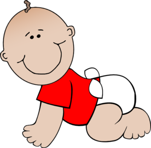Baby Boy Lying PNG icon