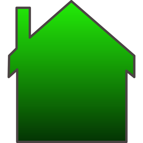 Green House PNG Clip art
