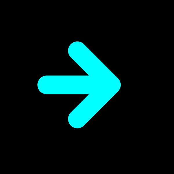 Arrow Light Blue PNG Clip art