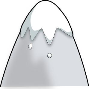 Kliponius Mountain In A Cartoon Style PNG Clip art