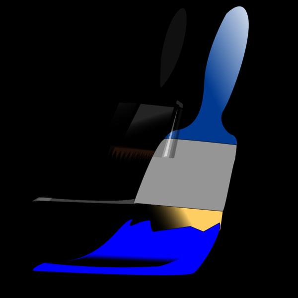 Paintbrush Blue PNG images