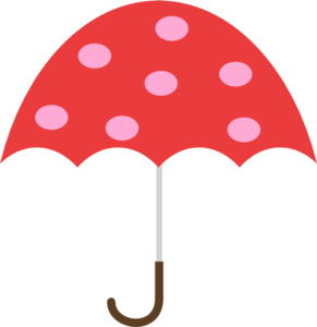 Polka Dot Umbrella PNG images