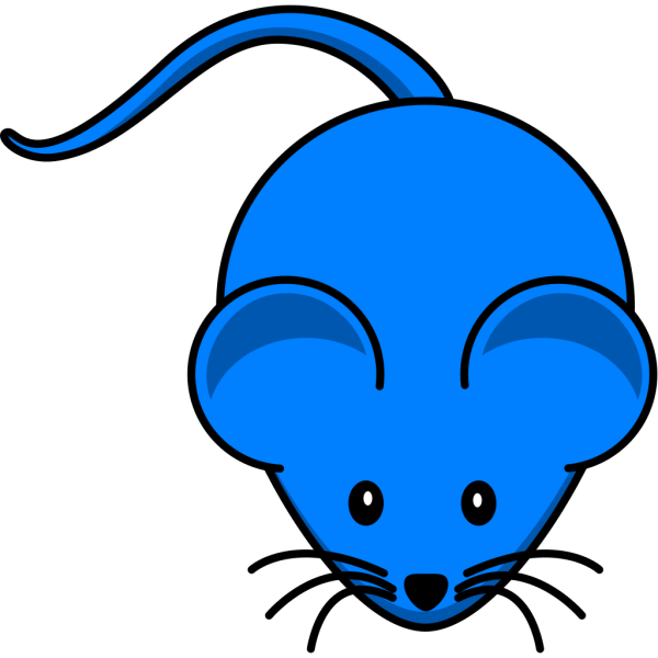 Blue Mouse PNG Clip art