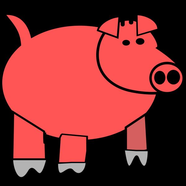 Cartoon Pig 1 PNG Clip art