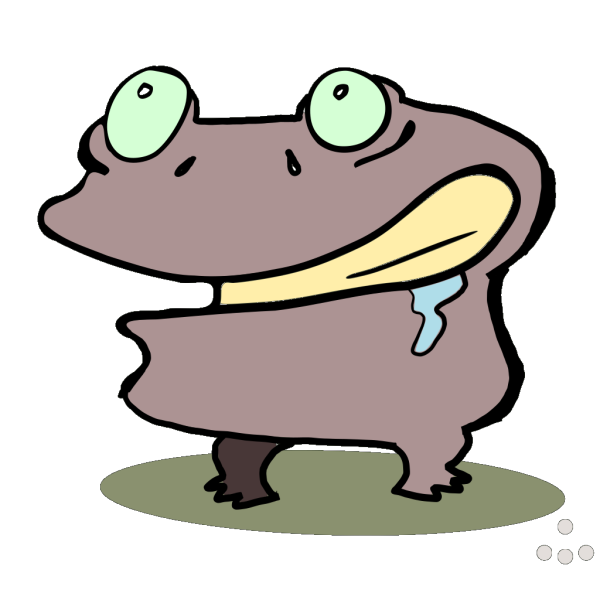 Cartoon Frog PNG Clip art