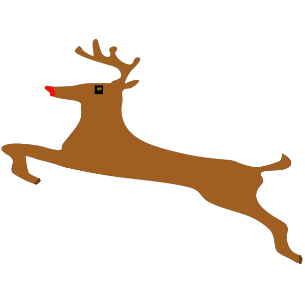 Rudolph-square2 PNG Clip art