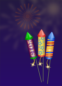 Large Silver Fireworks PNG images