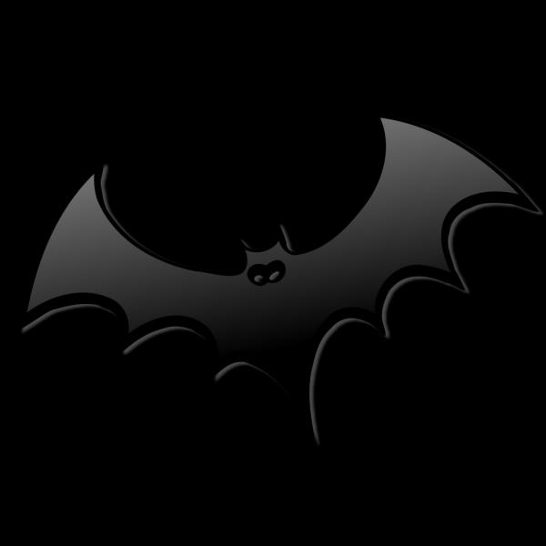 Black Bat PNG Clip art