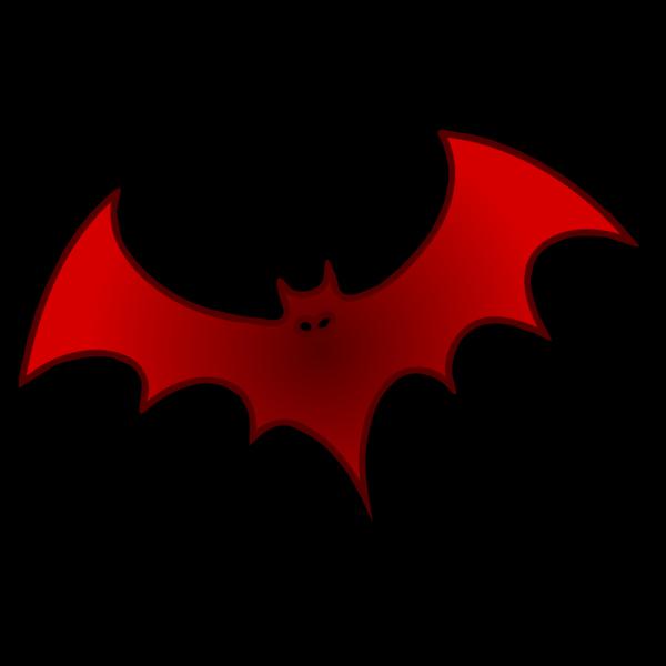 Red Bat PNG Clip art