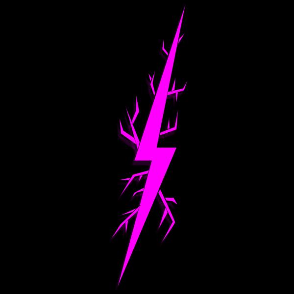 Lightning Bolt Right PNG Clip art
