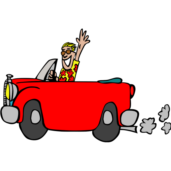 Red Car PNG image