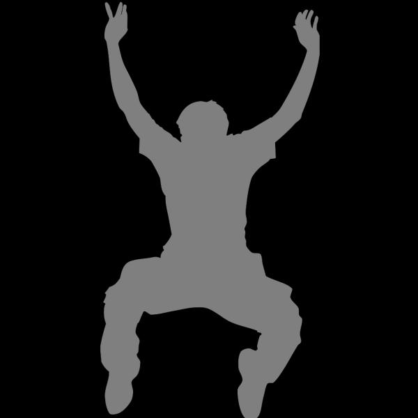 Dance Art Gray PNG Clip art