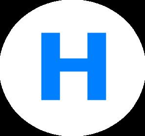 Letter H PNG Clip art