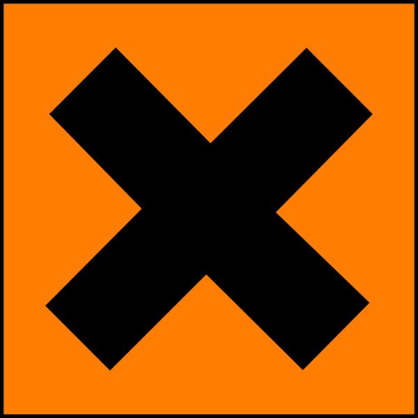 Hazard X PNG Clip art