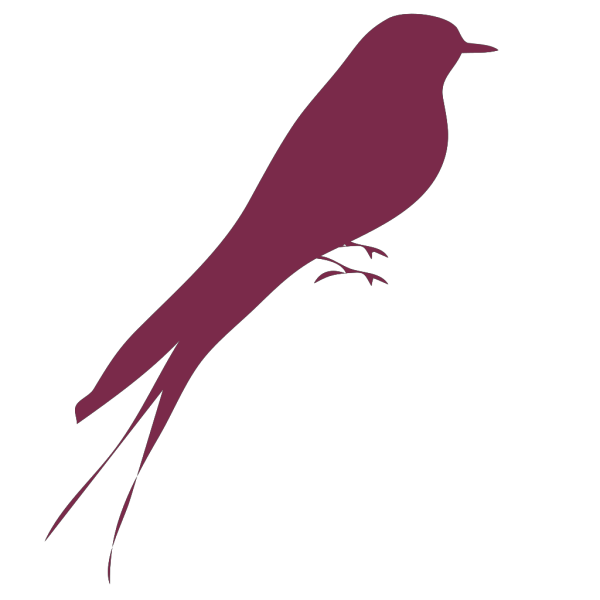 Purple Bird PNG Clip art