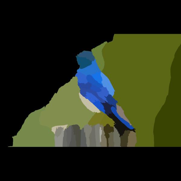 Mountain Blue Bird X PNG images