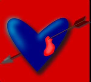 Pierced Heart PNG Clip art