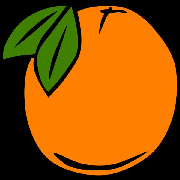 Orange Gradient Bat PNG Clip art