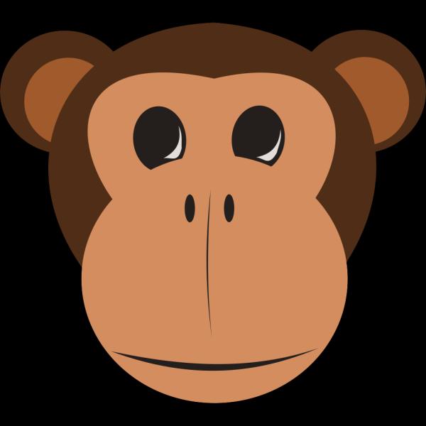 Monkey Face PNG Clip art