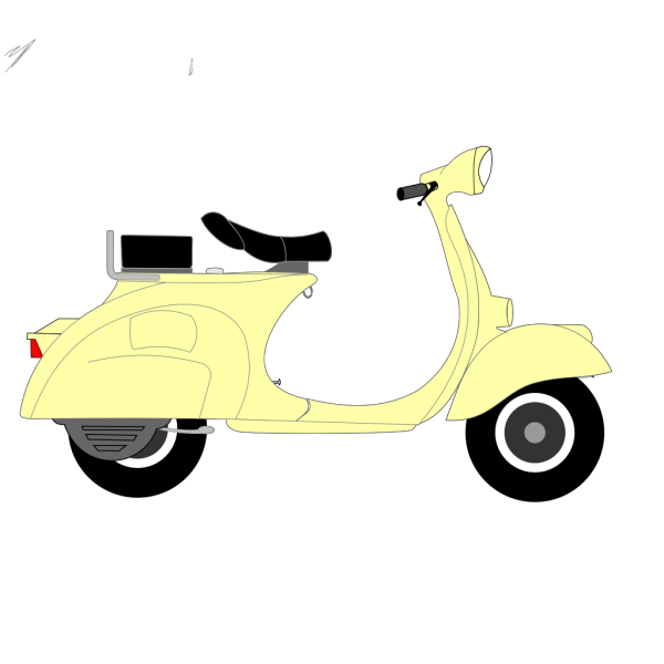 Blue Scooter PNG images
