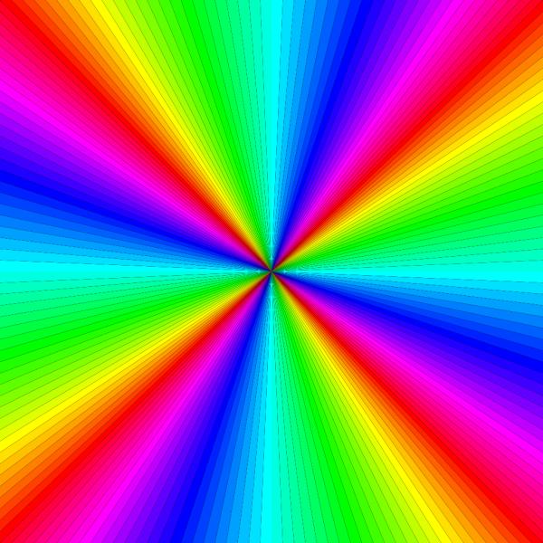 Rainbow Color Square PNG Clip art