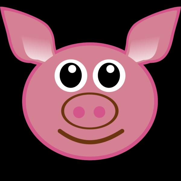 Pig Face PNG Clip art