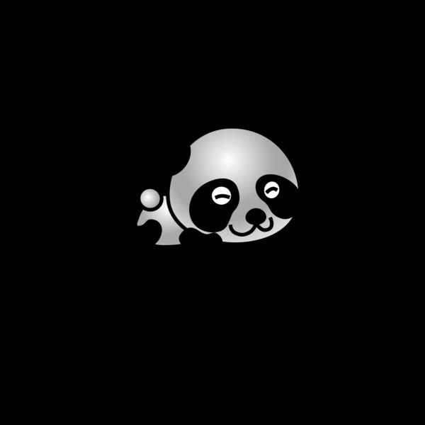 Cartoonish Panda PNG Clip art